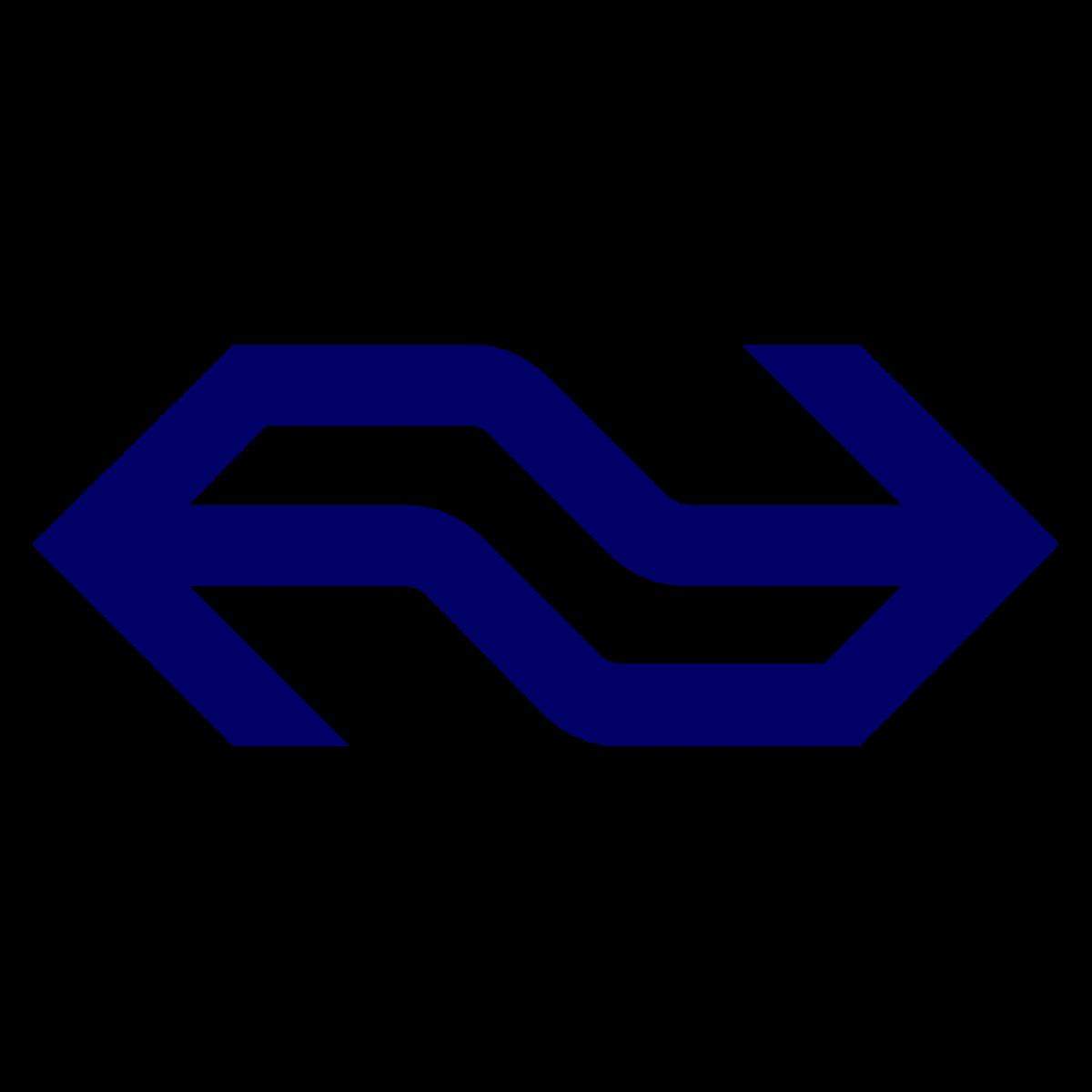 UX Design Nederlandse Spoorwegen NS logo