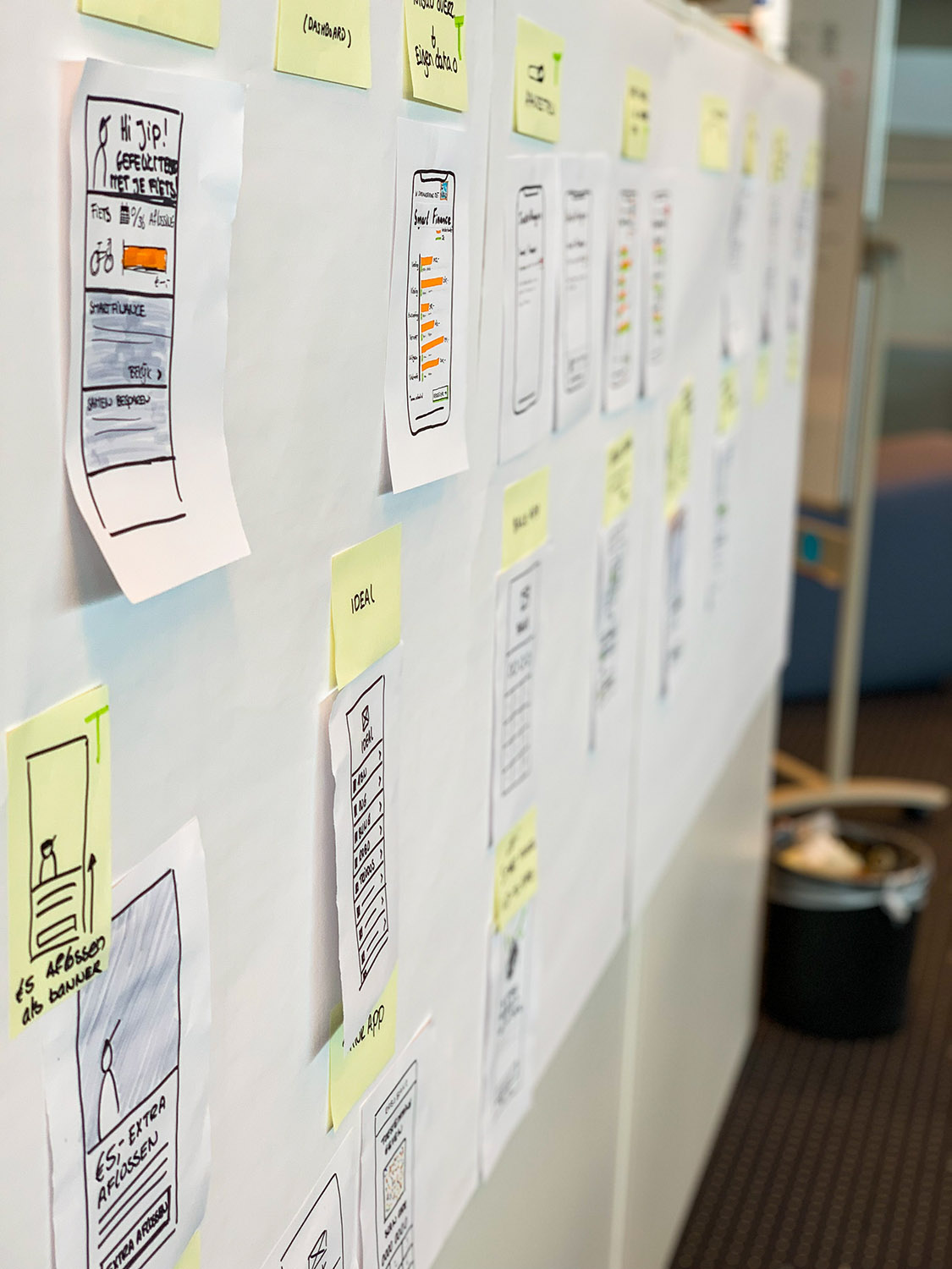 Storyboarding - Quion Design Sprint